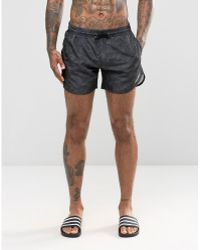 Cheats & Thieves - Mid Length Swim Shorts In Camo - Lyst