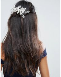 LoveRocks London | Pearl Spray Hair Comb | Lyst