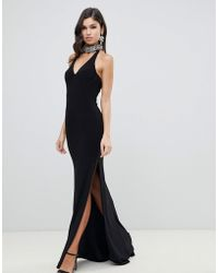 e8e8f6cf6c0 Forever Unique Embellished Maxi Dress in Black - Lyst