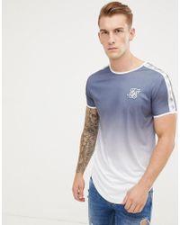 hermoso estilo amplia selección de diseños los Angeles Camiseta en azul marino descolorido
