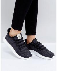 Adidas Tubular Runner (Core Black & Pink) End Clothing
