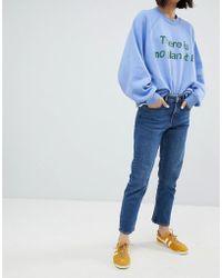 Weekday - Ami Mid Rise Crop Straight Jean - Lyst