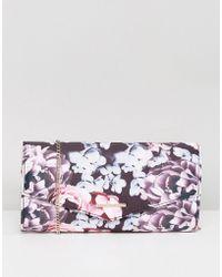 Lipsy - Floral Clutch Bag - Lyst