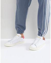 adidas Originals - Court Vantage Trainers In White Cq2570 - Lyst