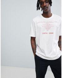 Cheap Monday - Programme Error T-shirt - Lyst