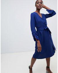 Finery London - Gervase Wrap Dress - Lyst