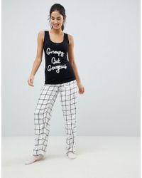 Boux Avenue - Grumpy But Gorgeous Long Pyjama Set - Lyst