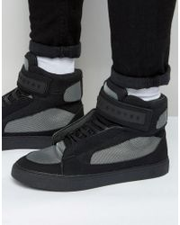 Criminal Damage - Bronx 2 High Top Trainers - Lyst