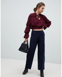 B.Young - Pinstripe Trousers - Lyst