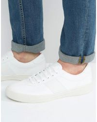 Fred Perry - Authentic Leather Trainers - Lyst
