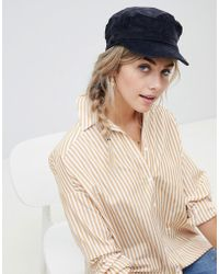 New Look - Cord Bakerboy Hat - Lyst