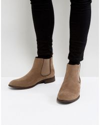 New Look - Faux Suede Chelsea Boots In Tan - Lyst