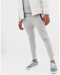 Another Influence - Slim Fit Pannel jogging Bottoms - Lyst