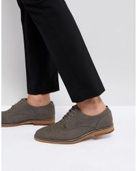 Call It Spring - Gagnard Lace Up Shoes In Grey - Lyst