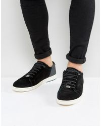 Ted Baker - Xiloto Suede Trainers - Lyst
