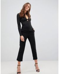 Finders Keepers - Huntr Cropped Trousers - Lyst