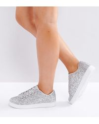 Truffle Collection - Wide Fit Trainer - Lyst