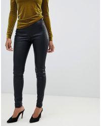 Y.A.S - Leather leggings - Lyst