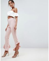 ASOS - Asos Tailored Soft Fluted Slim Pant - Lyst