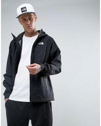 The North Face - Stratos Waterproof Hooded Jacket In Black - Lyst