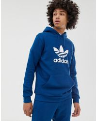 9f849a3c9bc1b5 adidas Originals Id96 Hoodie In Green Ay9255 - Green in Green for ...