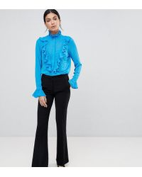 Y.A.S - Boot Flare Trouser - Lyst