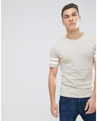 Only & Sons - Crew Neck Longline T-shirt - Lyst