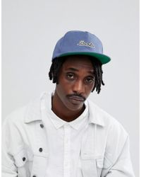 Brixton - Chase Snapback Cap In Blue - Lyst