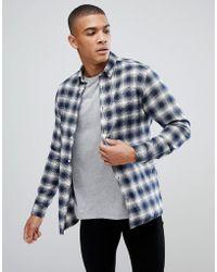 Jack & Jones - Premium Check Shirt - Lyst