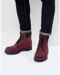 Timberland - Classic 6 Inch Premuim Boots In Red - Lyst