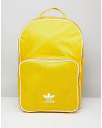 adidas Originals - Adicolor Backpack In Yellow Cw0634 - Lyst
