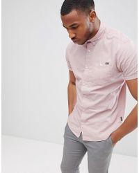 Jack & Jones - Originals Short Sleeve Cotton Shirt - Lyst