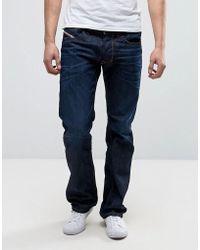 c019d7dd DIESEL Larkee-beex Tapered Jeans 084hn in Blue for Men - Lyst