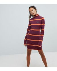 b4a881c91c97a Ellesse - Jersey Mini Dress With Roll Neck - Lyst