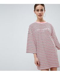 Missguided - 'you Know It Girl' T-shirt Dress - Lyst