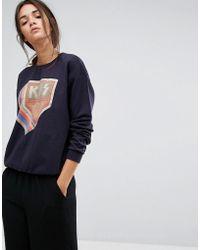 Gestuz - Lacie Printed Sweatshirt - Lyst