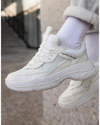 Calvin Klein Chunky sneakers blancas Maya