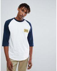 Volcom - Wreckler 3/4 Sleeve T-shirt With Logo - Lyst