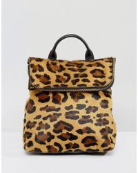 Whistles   Leopard Mini Backpack   Lyst