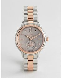 Vivienne Westwood - Vv158gytt Chronograph Bracelet Watch In Mixed Metal - Lyst