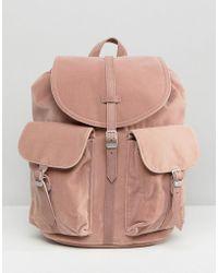 Herschel Supply Co. - Herschel Dawson Pink Velvet Backpack - Lyst