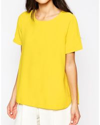 True Decadence - Curved Hem Top - Lyst