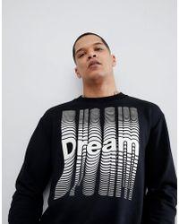 DIESEL - S-bay Dream Sweatshirt - Lyst