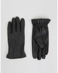 SELECTED - Gloves Leather - Lyst