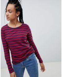 Hilfiger Denim - Stripe Long Sleeved T-shirt - Lyst