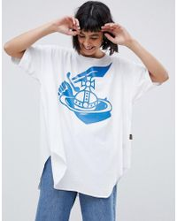 Vivienne Westwood Anglomania - baggy T-shirt - Lyst