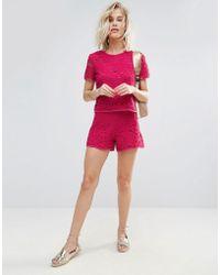 Madam Rage - Madame Crochet Short - Lyst