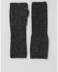 Alice Hannah | The Alice Long Arm Warmer With Studding | Lyst