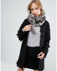 Alice Hannah - Sporty Fur Snood - Lyst