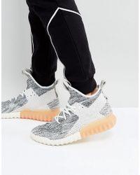 lyst adidas originali tubulare x pk scarpe in grigio bb2380 in grigio.